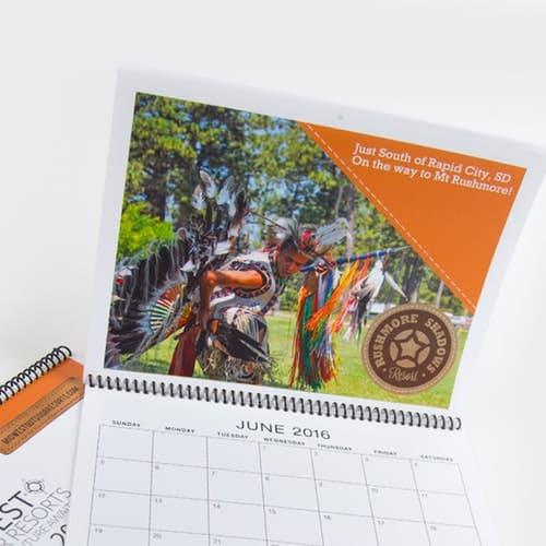 Custom Spiral Bound Calendars