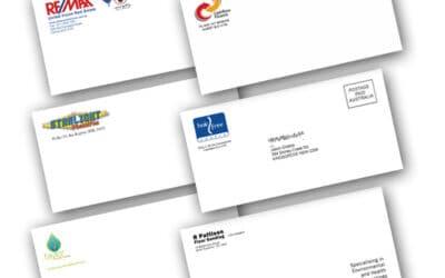 Full Color Digital Envelope Printing
