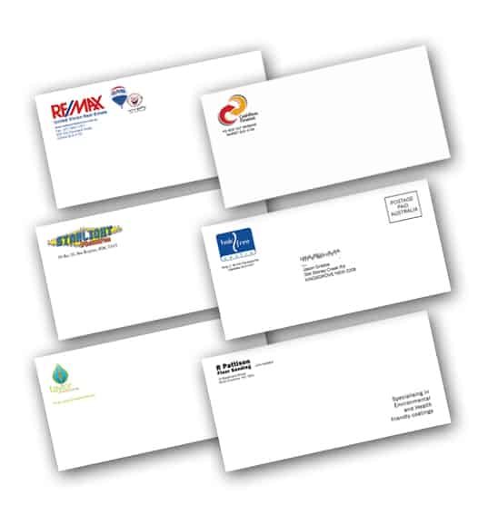 Full Color Digital Envelope Printing