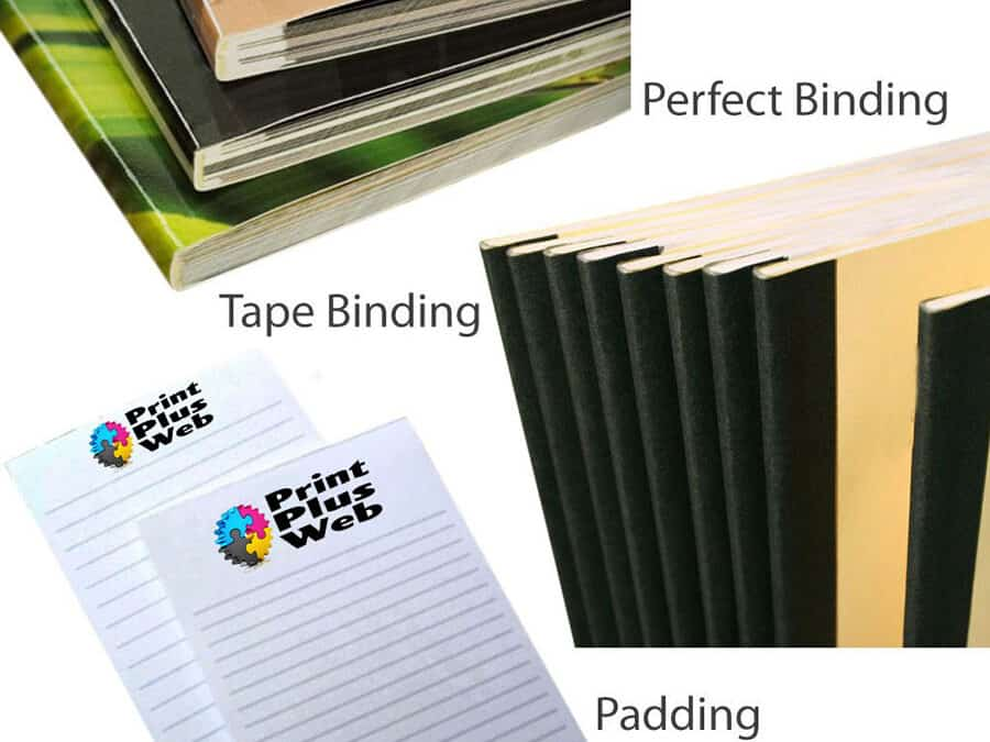 Perfect Bound Book and Tape Book Binding Services